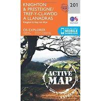 Knighton and Presteigne Tref-y-Clawdd a Dyffryn Elan by Ordnance Survey...