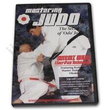 Okada Mastering Judo #5 Sutemi Waza Sacrifice okuden Dvd Hal Sharp grappling