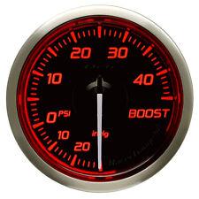 DEFI 52MM RACER TURBO 45 PSI GAUGE N2 RED