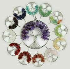 Amethyst Stone Costume Necklaces & Pendants