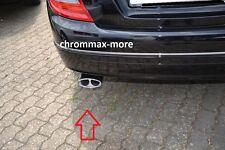 Auspuffblende Mercedes C-Klasse S204 T-Modell Bj ab 2007 > aus EDELSTAHL