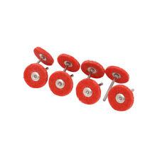 10Pcs 28mm Nylon Fiber Grinding Head T-Type Abrasive Tool 1/8