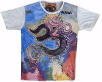New men t shirt short sleeve Magic Mushrooms Psy floral Weed Retro Tribe Sure