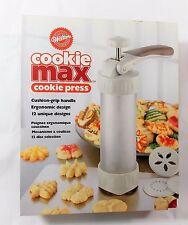 Wilton Cookie Max Cookie Press w/12 Discs, Recipes &  Instructions #2104-4051