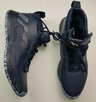 Adidas Mens 13.5 Dame 5 'Collegiate Navy' Mens Team Basketball Shoes EE5428