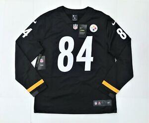 Nike NFL Pittsburgh Steelers Antonio Brown Long Sleeve Therma Jersey Men's L NWT