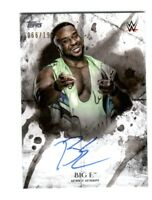 WWE Big E 2018 Topps Undisputed On Card Autograph SN 66 of 199
