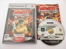 TEKKEN 5 - SONY PLAYSTATION 2 - Jeu PS2 Platinum PAL Fr Complet