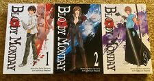 BLOODY MONDAY GRAPHIC NOVEL MANGA COMIC VOLUMES 1-3 MINT CONDITION KODANSHA