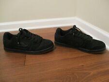 Classic Rare Used Worn Size 12 Adio Oath Skateboard Shoes Black & Gum