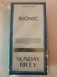 SUNDAY RILEY Bionic Anti-aging Cream New in Box Full Size 50ml 1.7 oz.