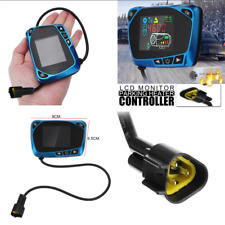 1x Blue LCD 12/24V Car Air Parking Heater Switch Remote Control Setup ON/OFF