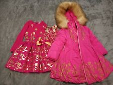 Adee Girls Dress & Coat (Winter) Age 5