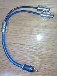 db link by Phoenix RCA Y adapter splitter