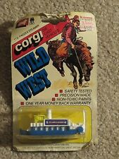 Corgi Die-cast Wild West 113 Paddle Steamer St. Louis Queen 1982 MOC