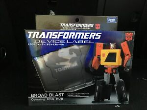Takara Tomy Transformers Device Label Broad Blast / Blaster