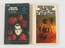 ROD SERLING 2 paperback books Stories & New Stories From The Twilight Zone