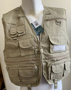 New Crystal River Utility Vest, Size Larges, And  Xl Larges Sleeveless Jacket