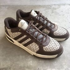 Adidas Unity Sneakers Shoes Leather Brown Size US 15