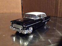 1955 Chevy Black  racing champions ertl Muscle Car 1:64 Diecast loose