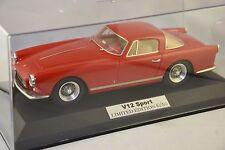 V12Sportmodels S48 - Ferrari 250 GT coupé Boano 1956 Rouge 1/18