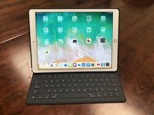 Apple iPad Pro 2nd Gen. 512GB, Wi-Fi 12.9in - Gold With Keyboard and Back Case