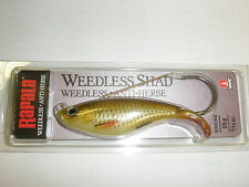 Rapala Weedless Shad Sinking Lure 8cm 16g JUNGLE PERCH Fishing tackle