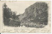 CPA 23- CROZANT -  Pont sur la Sedelle