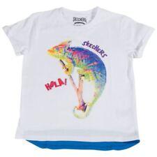 Magliette, maglie e camicie bianche grafico a manica corta per bambini dai 2 ai 16 anni