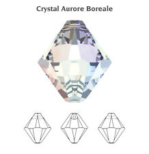 Genuine SWAROVSKI 6328 XILION Bicone Top Drilled Crystals Pendants * Many Colors
