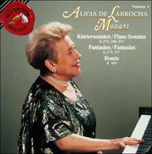 ALICIA DE LARROCHA Mozart Sonatas K 279 280 457 Fantasis K 397 475 Rondo K 485