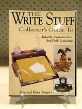 The Write Stuff Collector's Guide to Inkwells, Fountain Pens Desk Accessories