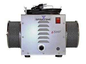 Sprayfine A-401 Replacement 4-stage HVLP Turbine paint sprayer  motor unit
