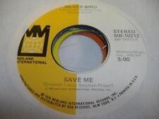 Soul Unplayed NM! 45 SILVER BIRD Save Me on Midland
