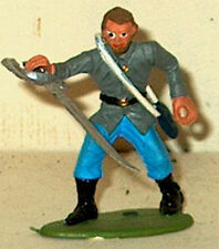 CIVIL WAR CONFEDERATE OFFICER W/SWORD RING HAND 54MM MPC