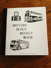DRIVERS DAILY DEFECT BOOK FOR  PSV,  40 TRIPLICATE NUMBERED SHEETS