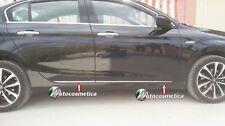 4 modanature Profili Acciaio Cromo Stampati Protezioni Porte Fiat Tipo SD HB SW