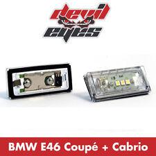 BMW E46 Coupe LED Kennzeichenbeleuchtung Kennzeichen Beleuchtung weiß Canbus