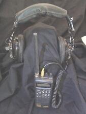 Uniden Bc80Xlt Handheld Scanner and Headset NascarDaytona