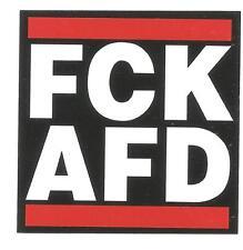 100 FCK AFD Aufkleber stickers Antifa Gegen Nazis AFA Punk GNWP ARA 161