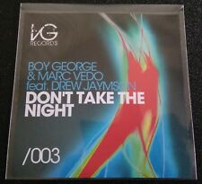 Boy George & Marc Vedo - Dont take the night (Maxi-Single, 8 tracks, Promo) 2011
