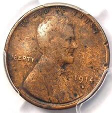 New listing 1914-D Lincoln Wheat Cent 1C - Pcgs Vf Details - Rare Key Date Certified Penny
