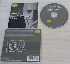 CD ALBUM CLASSIQUE MAURIZIO POLLINI CHOPIN 24 PRELUDE NOCTUNRES MAZURKAS SCHERZO