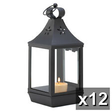 "WHOLESALE WEDDING! Simple Colonial 12 CARRIAGE STYLE CANDLE LANTERN 12"" High"
