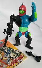 Trap Jaw 1982 Vintage He-Man MOTU + back card, comic