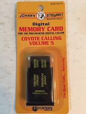 Johnny Stewart Model #MC-CY5 Coyote Calling Memory Card, Volume 5