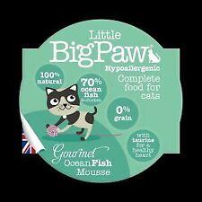 Little Big Paw Gourmet Cat Ocean Fish Mousse 85g [DCse 8] - 729085