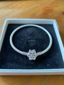 Pandora Moments Bright Star Mesh Bracelet NEW