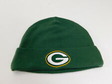 GREEN BAY PACKERS Baby GREEN BEANIE Team Apparel Baby Kids SIZE: 3 to 6 Months