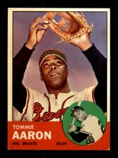 1963 Topps #46 TOMMIE AARON EX *y6